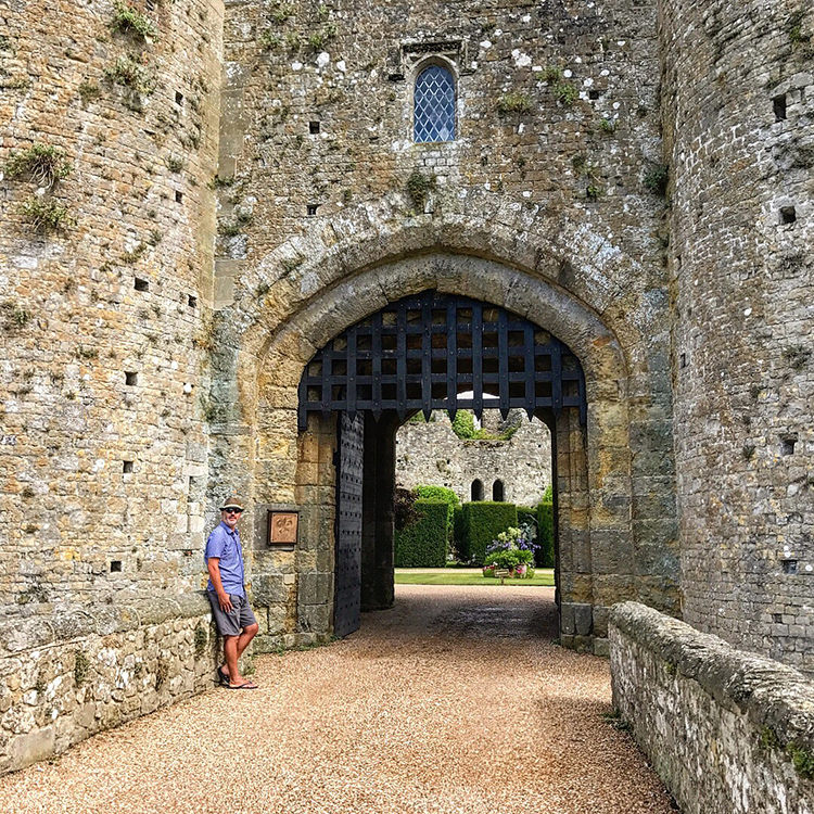 Amberley Castle in Sussex UK with Seen by Solomon travel lifestyle blog