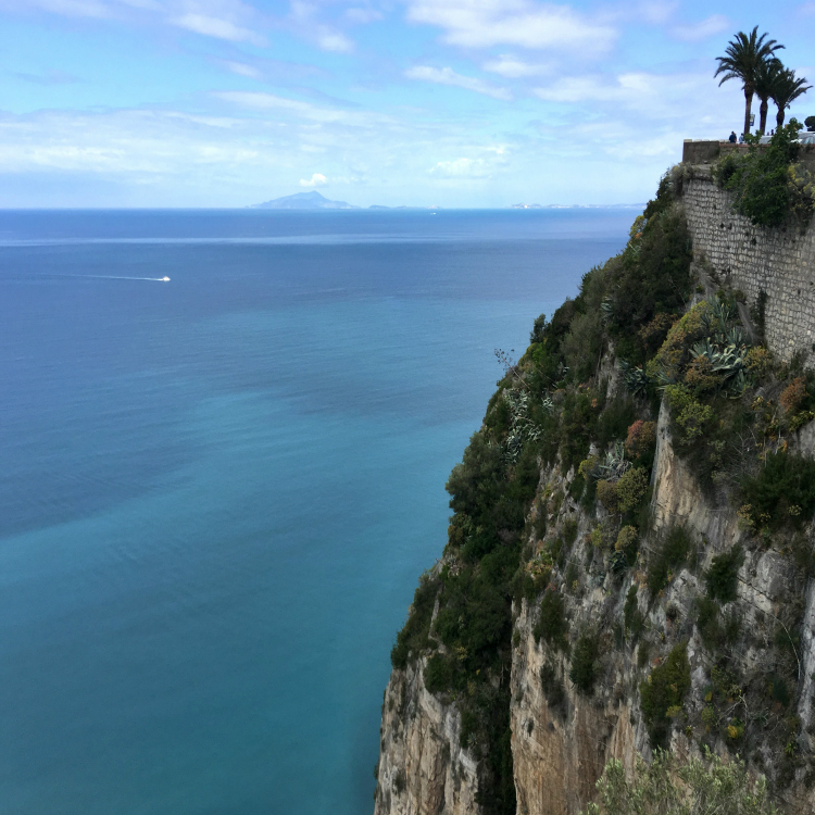 view1 of Amalfi coast, Italy, with Seen by Solomon travel blog