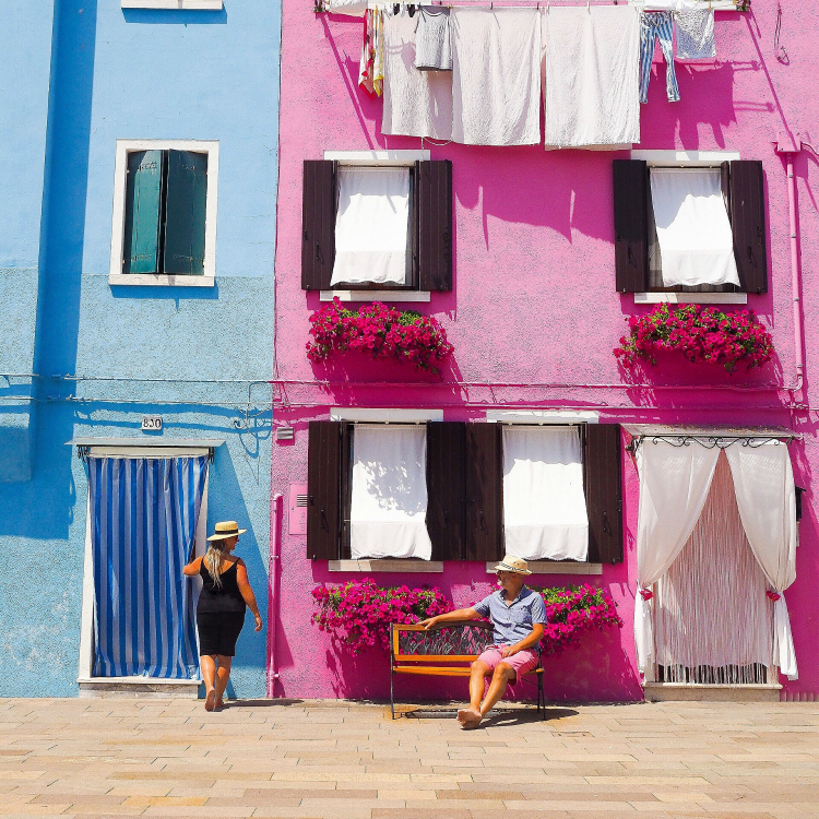 Burano – the rainbow island!