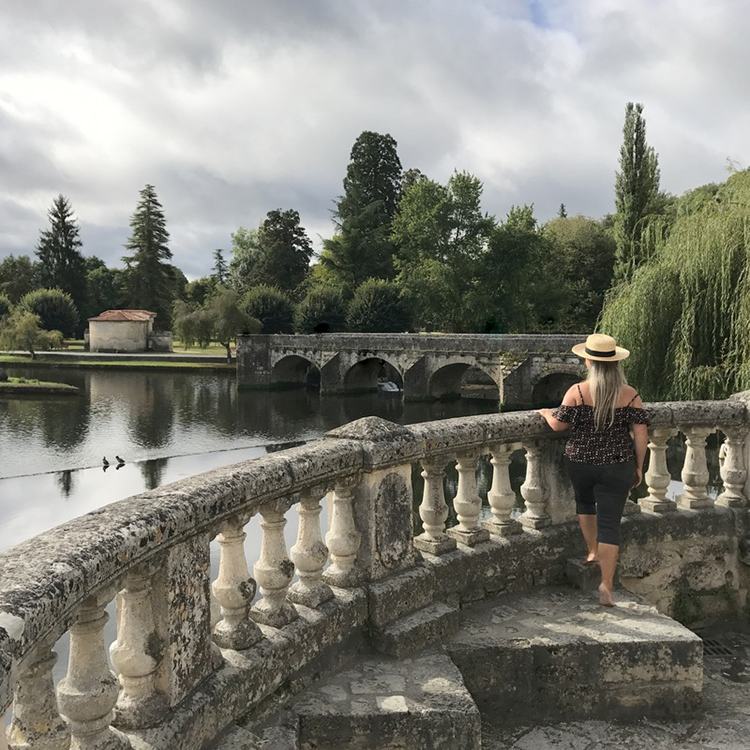 Brantome – walking in an oil painting!