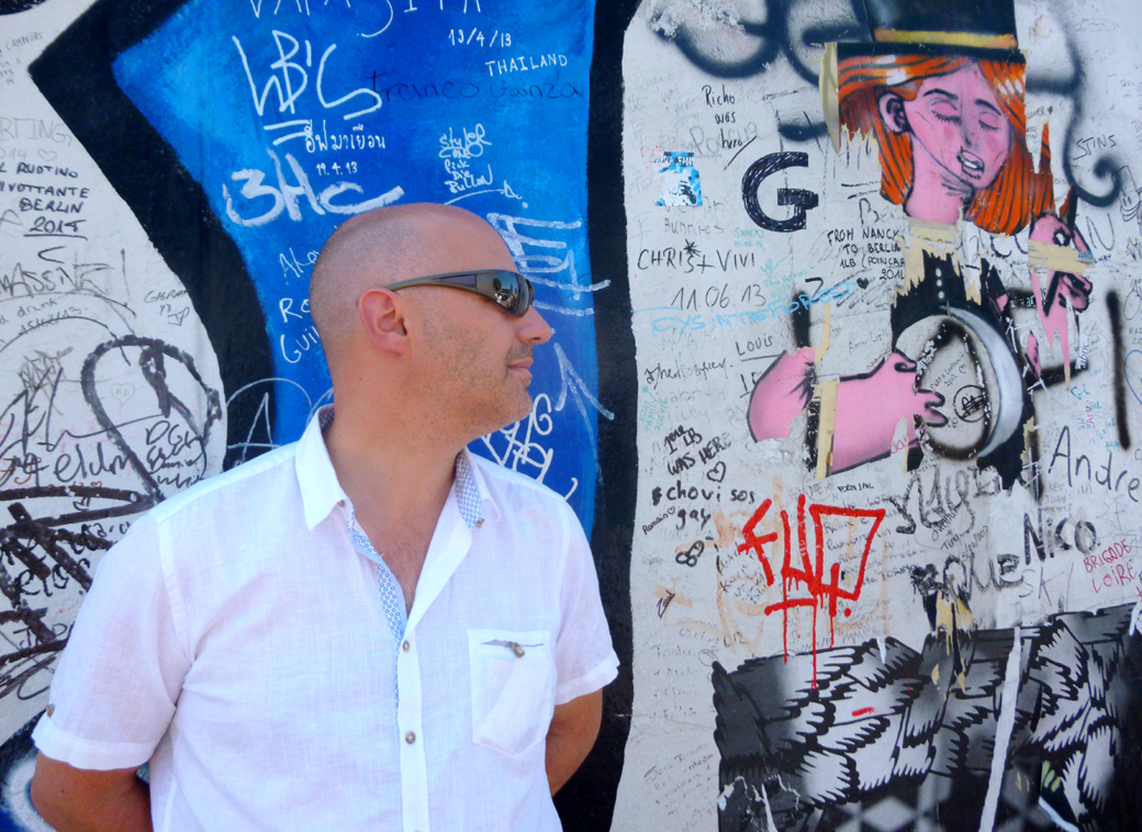 Berlin wall with Seen by Solomon travel lifestyle blog