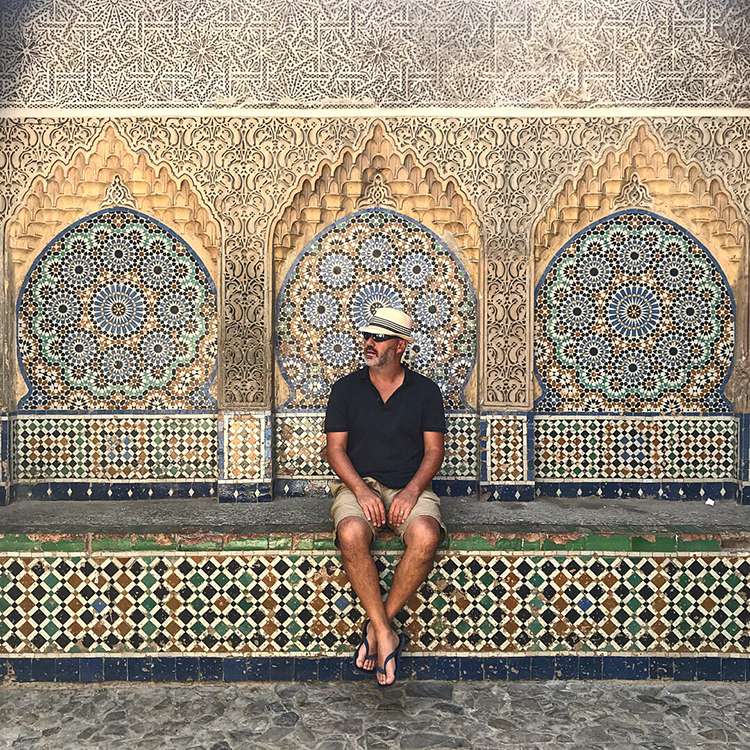 Arches and mosaics of the Moroccan medinas with Seen by Solomon travel blog by David and Angela Solomon