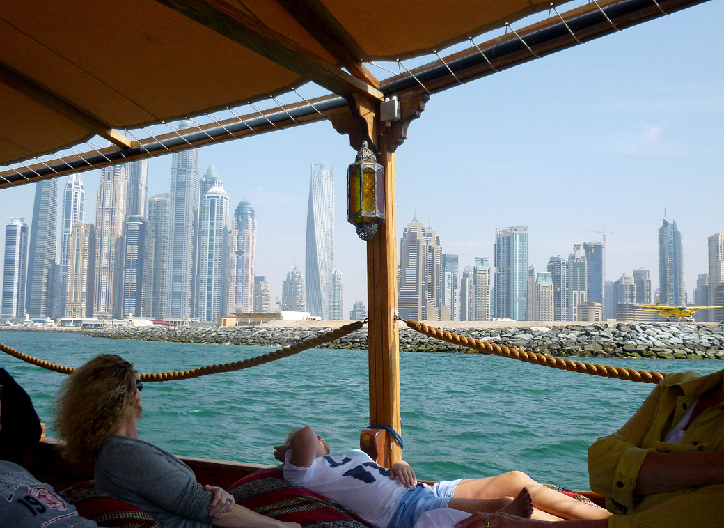 Dhow boat trip from Dubai Marina UAE with Seen by Solomon travel blog