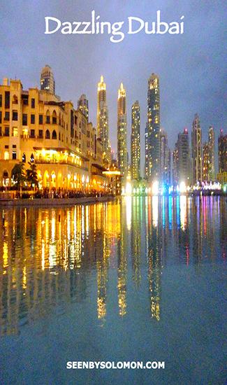 Dubai with Seen by Solomon travel blog Pinterest pin