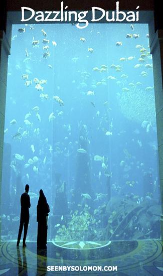 Atlantis Palm Dubai with Seen by Solomon travel blog Pinterest pin