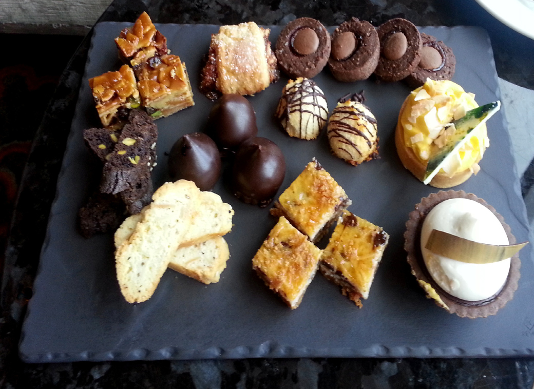 food tips for Seen by Solomon travel blog at the Mandarin Oriental, New York, for afternoon tea