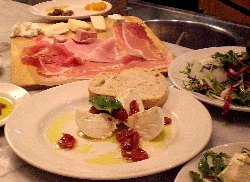 food tips for Seen by Solomon travel blog at Eataly New York, Italian antipasti