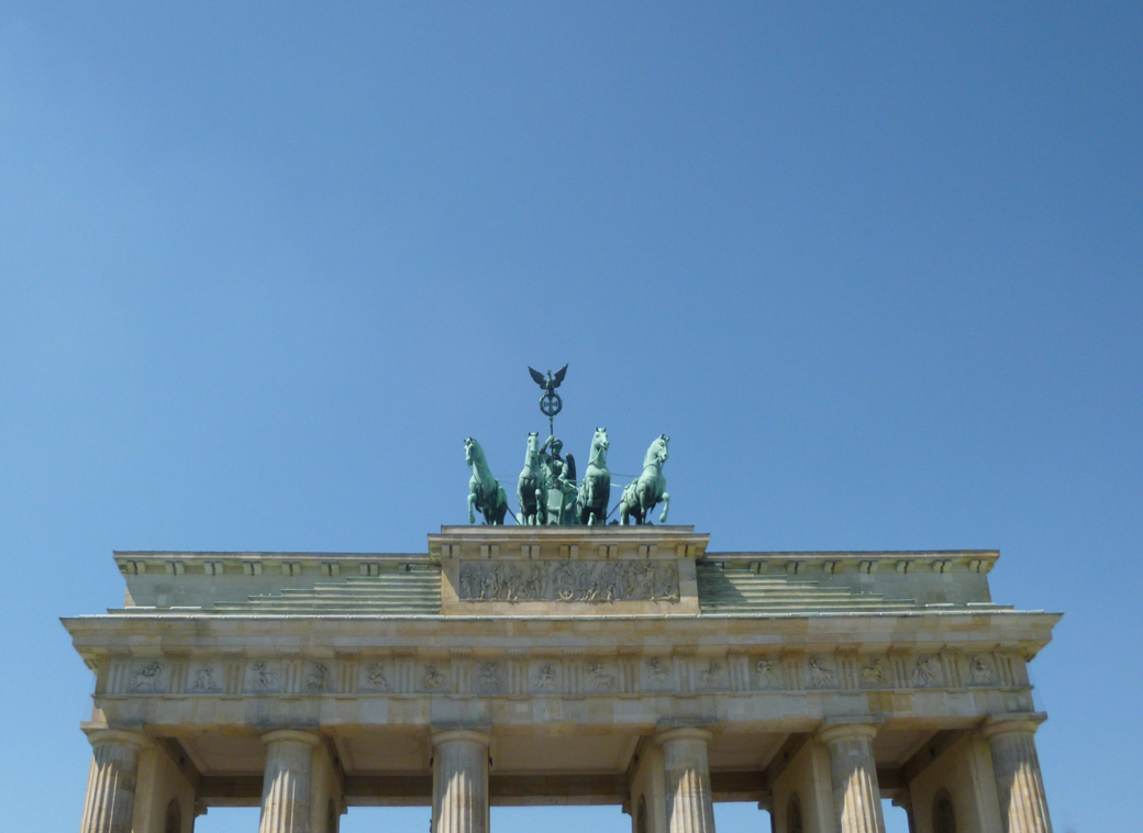 Berlin, Germany with Seen by Solomon travel blog at the Brandenburg Gate
