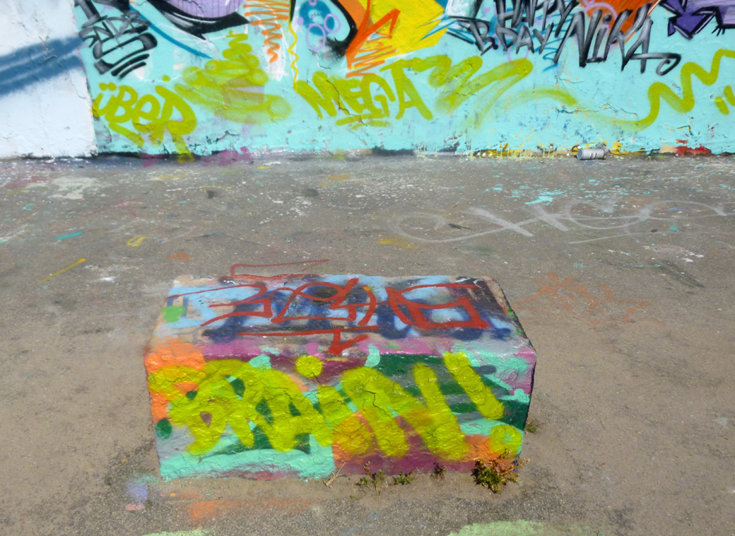 Berlin, Germany with Seen by Solomon travel blog at Mauerpark and it's graffiti walls