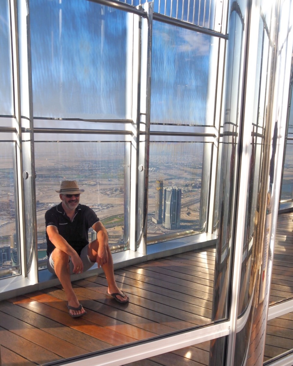 Burj Khalifa Dubai with Seen by Solomon travel blog
