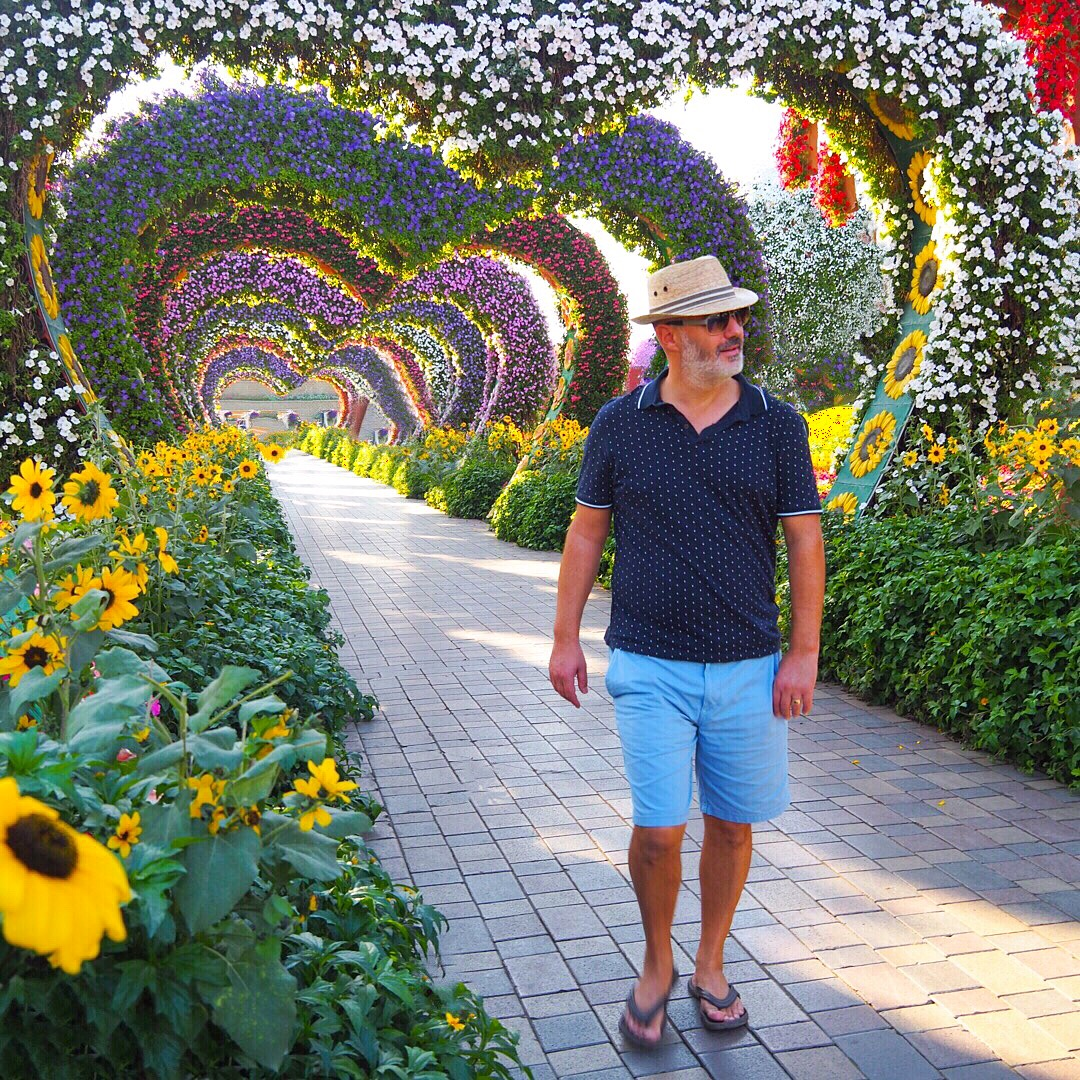 Miracle Garden Dubai with Seen by Solomon travel blog