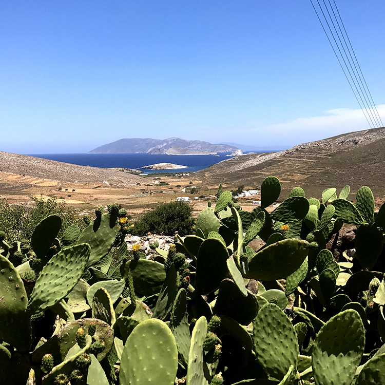 Folengandros greek island with Seen by Solomon aka David and Angela Solomon