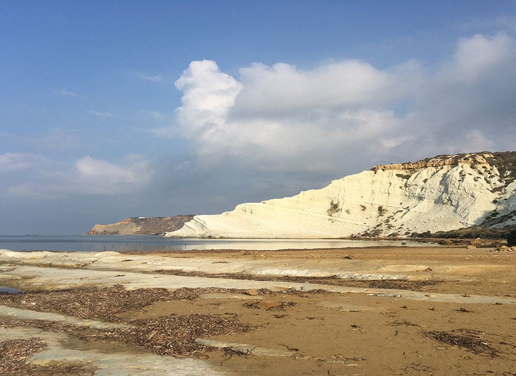 Review of Scala dei Turchi, Sicily with Seen by Solomon travel blog