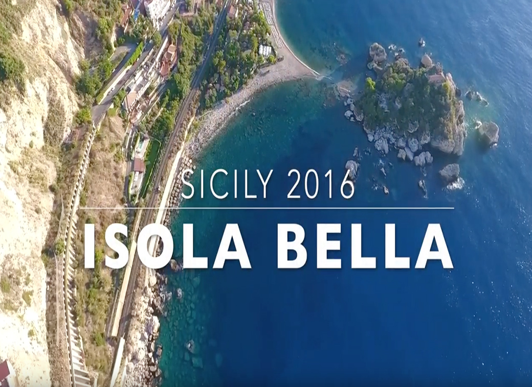 Video of Isola Bella Sicily by Seen by Solomon travel lifestyle blog