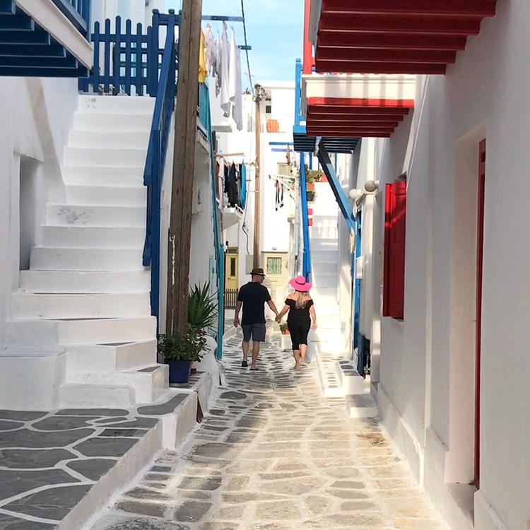 Magical Mykonos town!