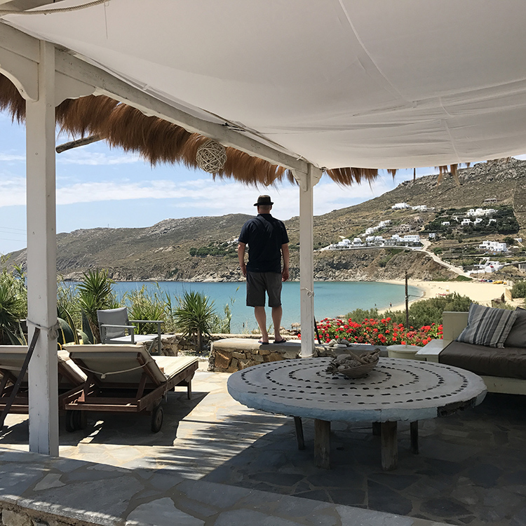 Mykonos at Seaside Studios with Seen by Solomon travel lifestyle blog
