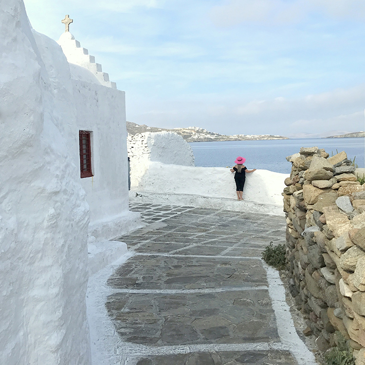 Mykonos town with Seen by Solomon travel lifestyle blog