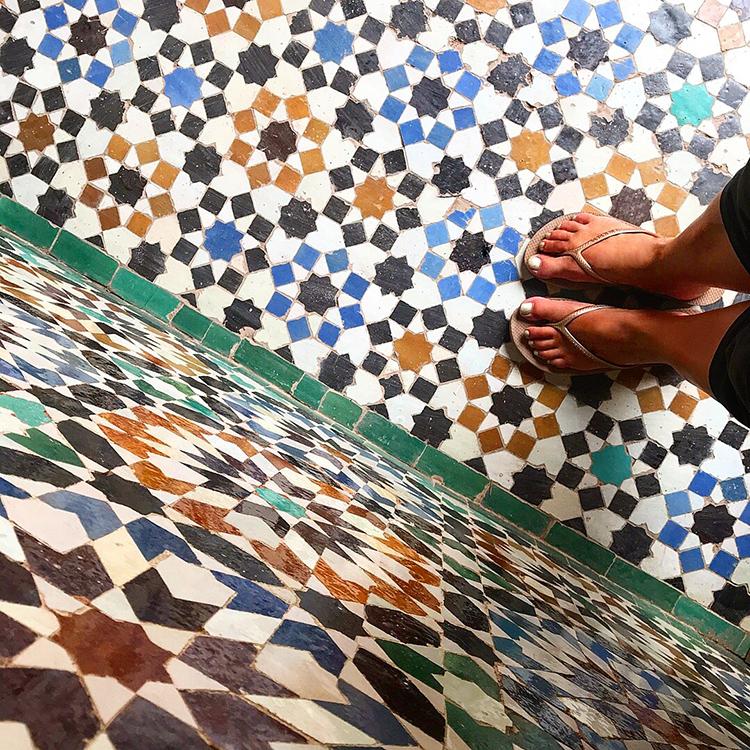 Moroccan medinas . Colour Texture Details