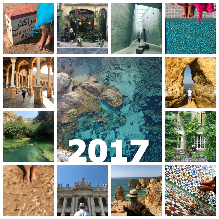 Twenty seventeen 2017 summing up with Seen by Solomon travel blog of David and Angela Solomon