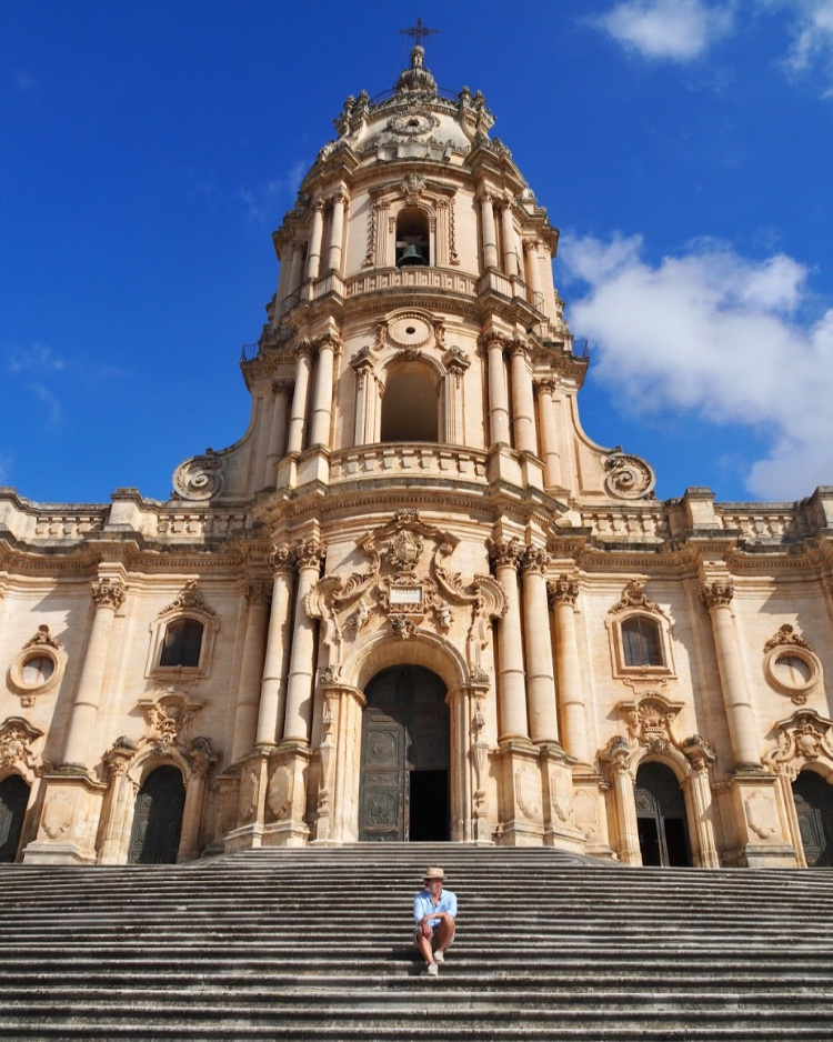 Modica Italy with David and Angela Solomon of travel blog Seen by Solomon