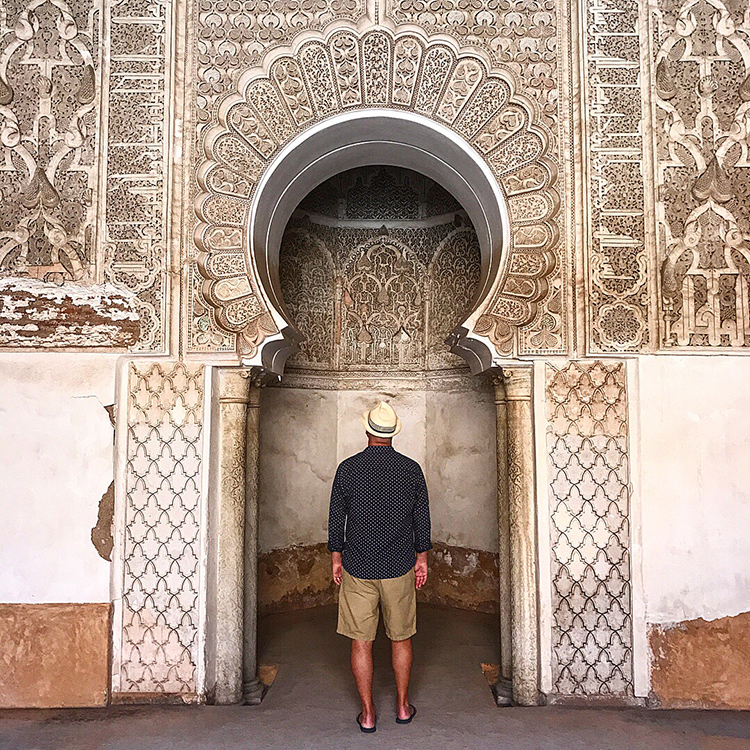 Colours and textures of the Moroccan medinas with Seen by Solomon travel blog by David and Angela Solomon