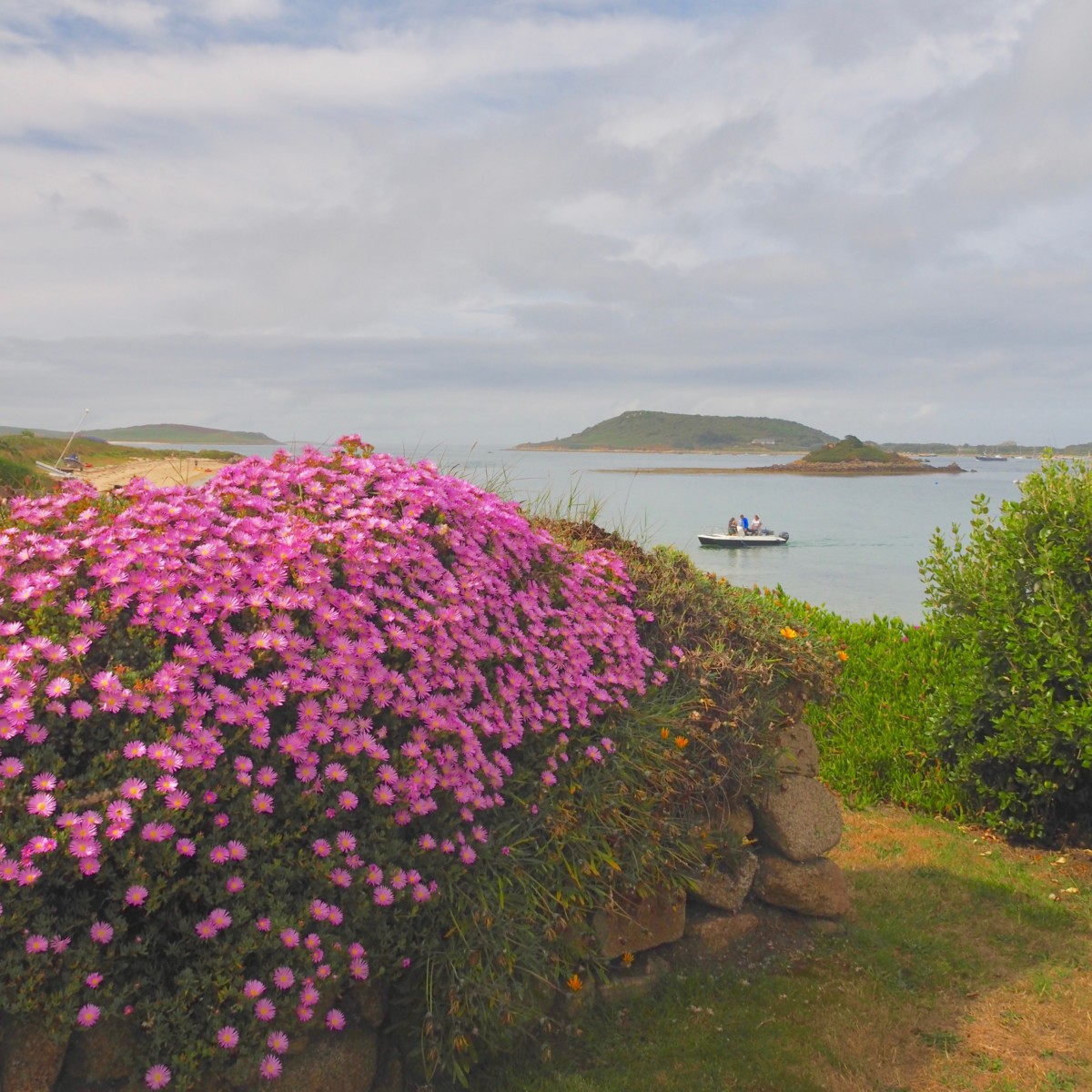 Tresco, Scilly Isles UK with David and Angela Solomon of travel blog Seen by Solomon