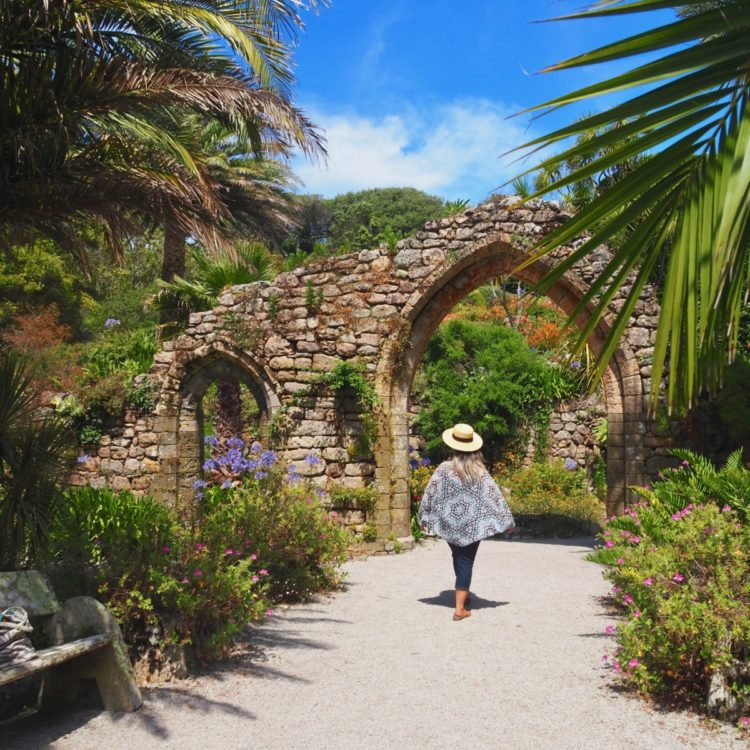 Abbey Gardens, Tresco Scilly Isles with David and Angela Solomon of travel blog Seen by Solomon