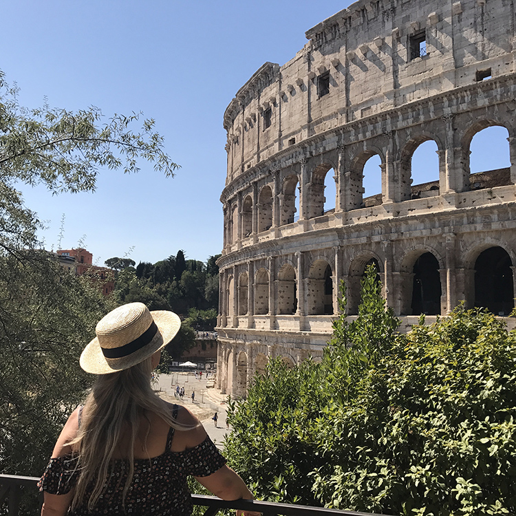 Rome on a red Vespa with Seen by Solomon travel blog by David and Angela Solomon
