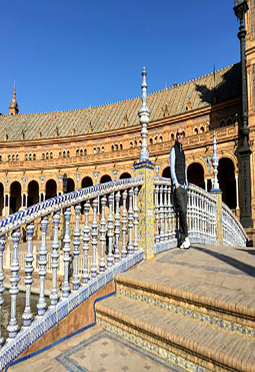 Plaza de Espana, Seville Spain with Seen by Solomon travel blog