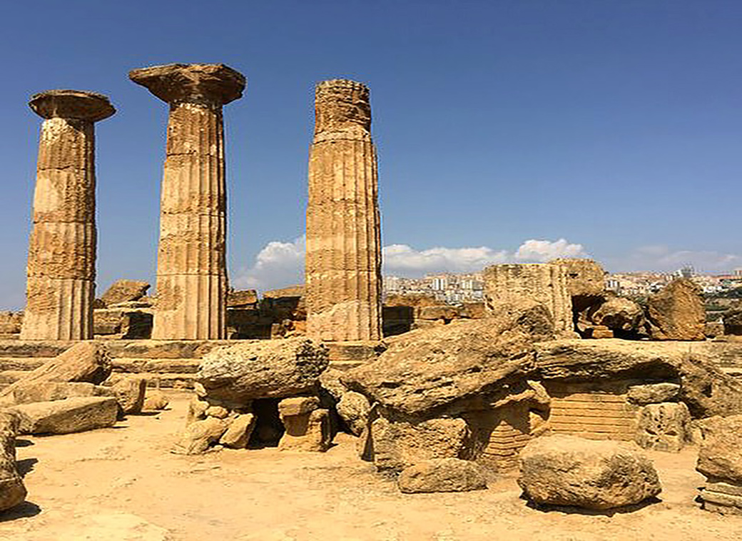 Valley of the Temples near Agrigento in Sicily with Seen by Solomon travel lifestyle blog