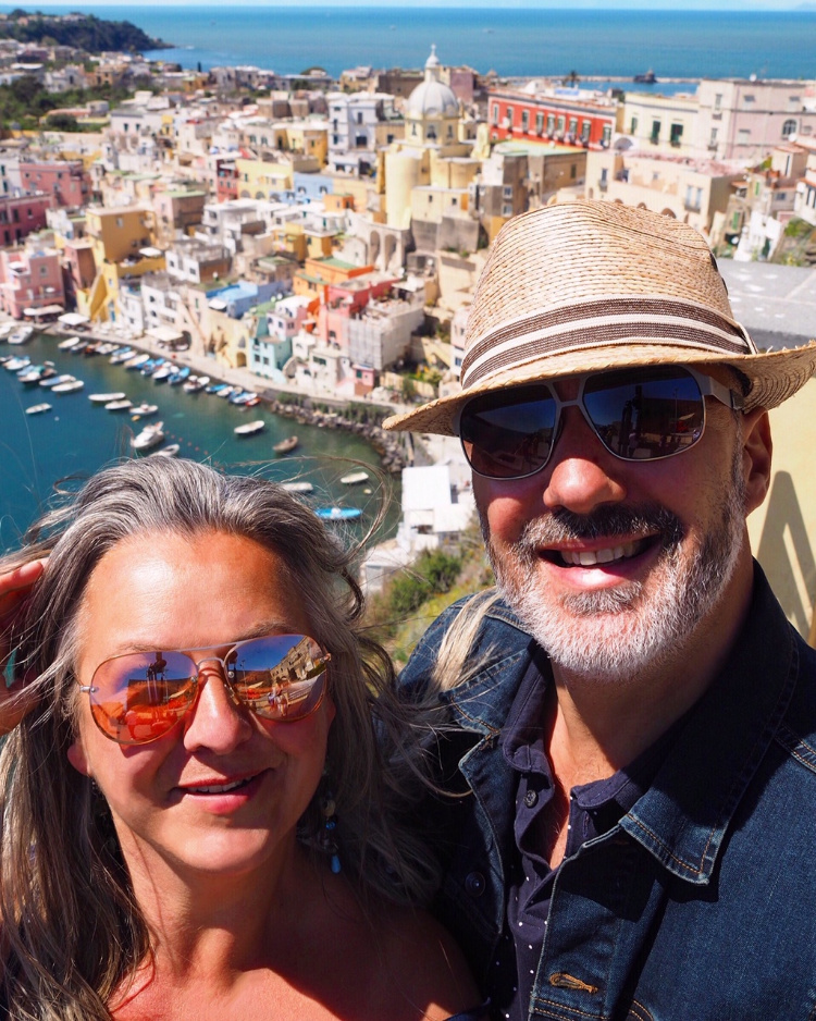 Procida Italy with David and Angela Solomon travel blog Seen by Solomon