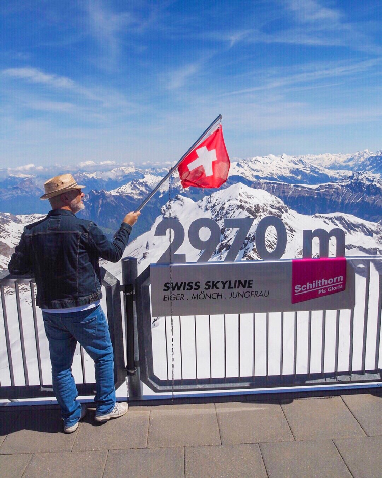 Switzerland in Spring with David and Angela Solomon travel blog Seen by Solomon
