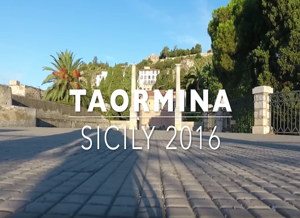 video of Taormina in Sicily by Seen by Solomon travel lifestyle blog