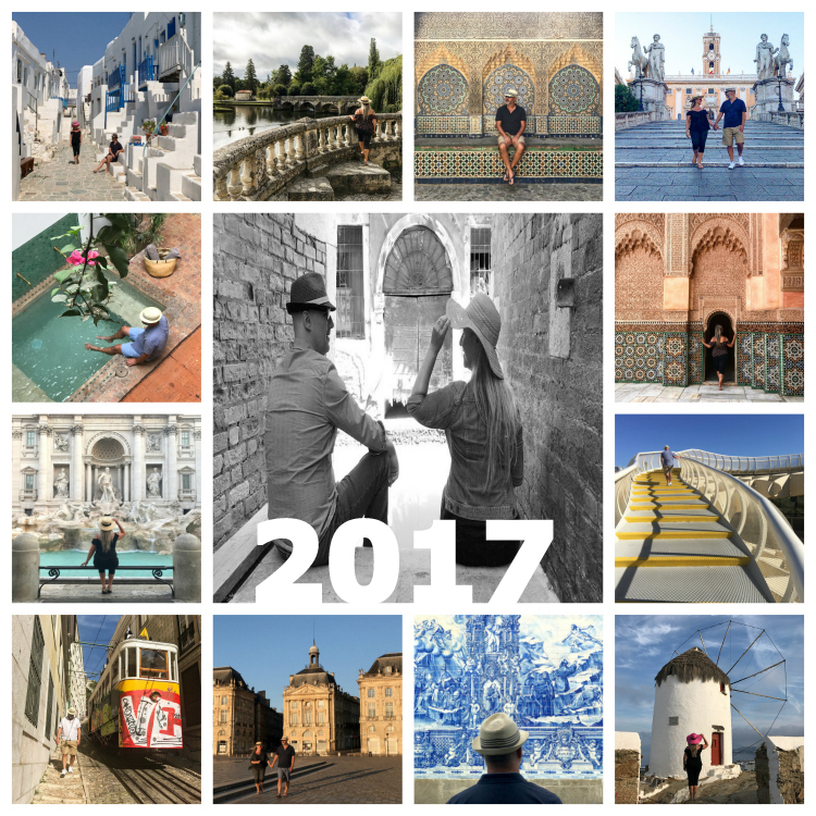 Twenty seventeen 2017 summing up with Seen by Solomon travel blog of David and Angela Solomon