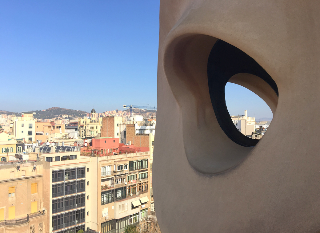 Gaudi's Casa Mila, Barcelona guide, Spain with Seen by Solomon travel blog