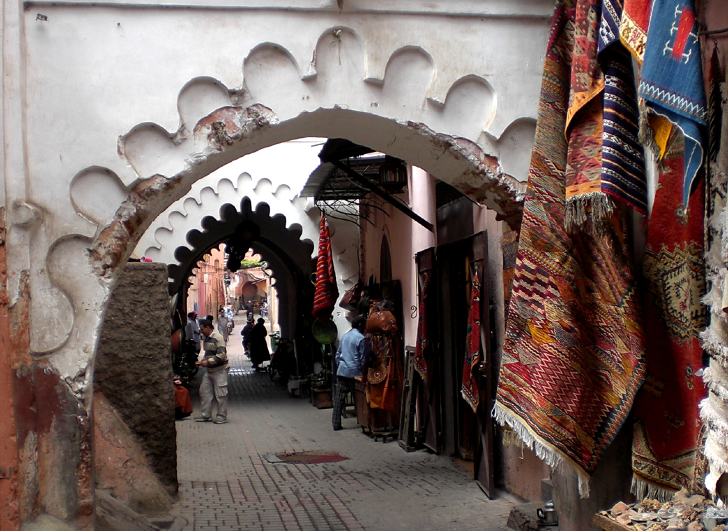arches and alleyways in Marrakech, Morocco, with Seen by Solomon travel blog