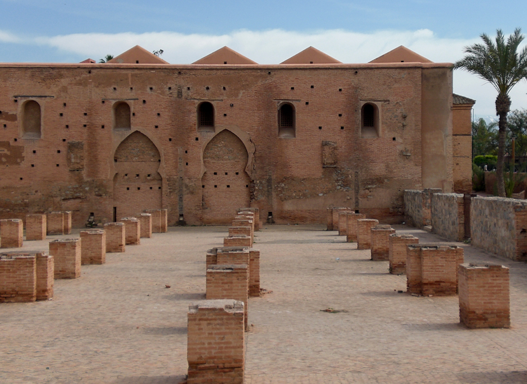 architecture in Marrakech, Morocco, with Seen by Solomon travel blog