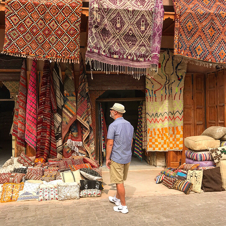 Colours and tiles of Morocco with Seen by Solomon travel and lifestyle blog by David and Angela Solomon