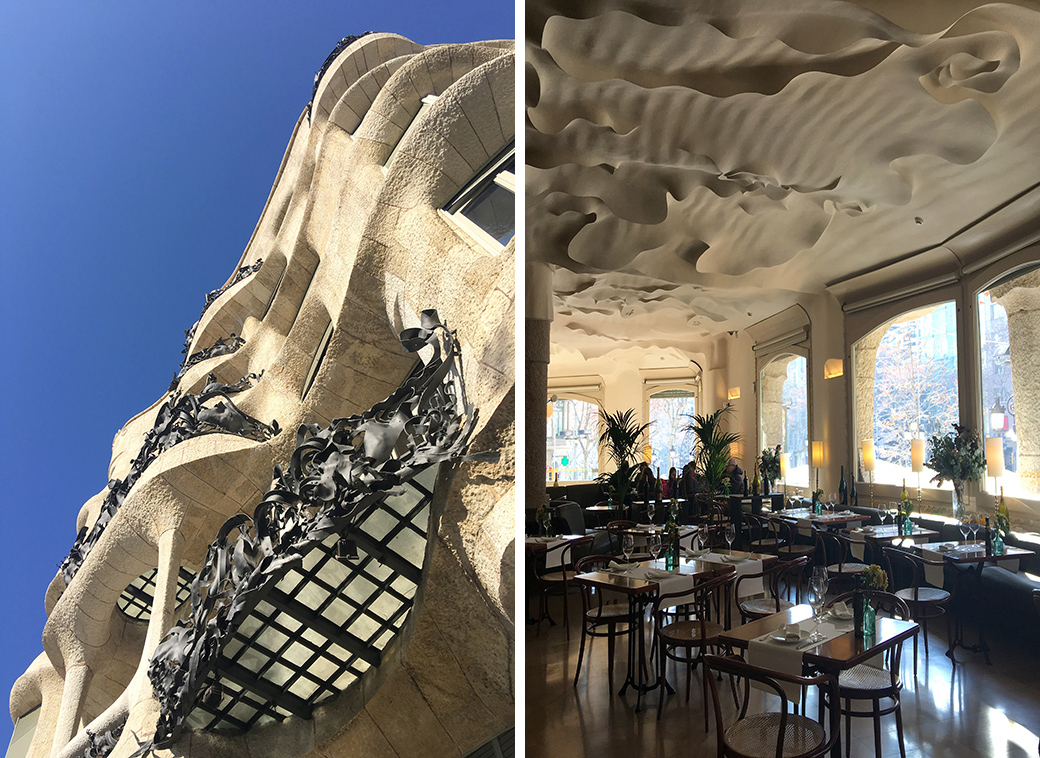 Gaudi's Casa Mila, Barcelona, Spain with Seen by Solomon travel blog