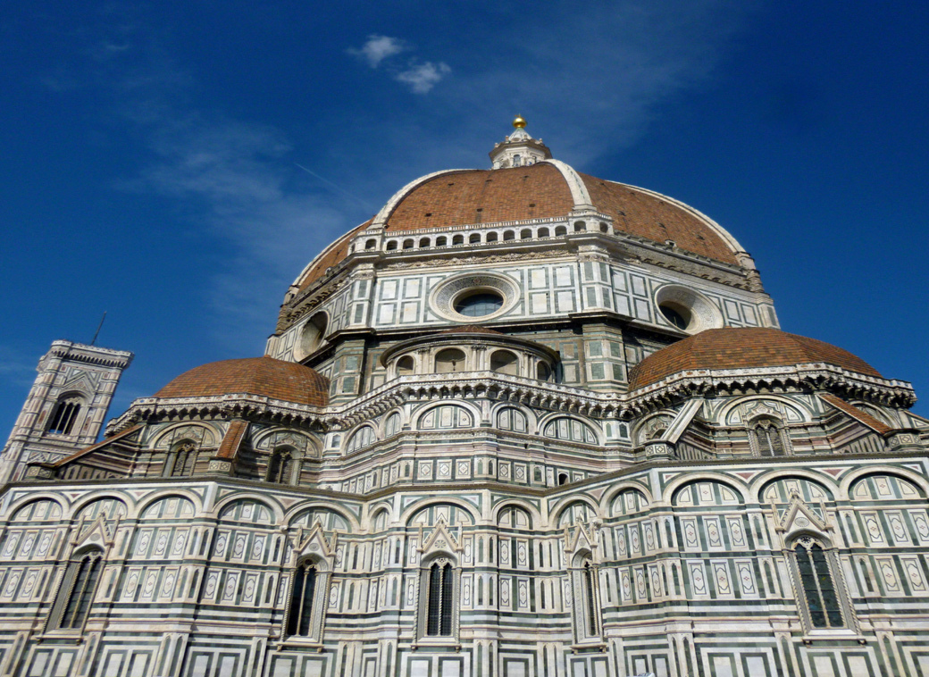 Florence Italy main cathedral and dome with Seen by Solomon travel blog