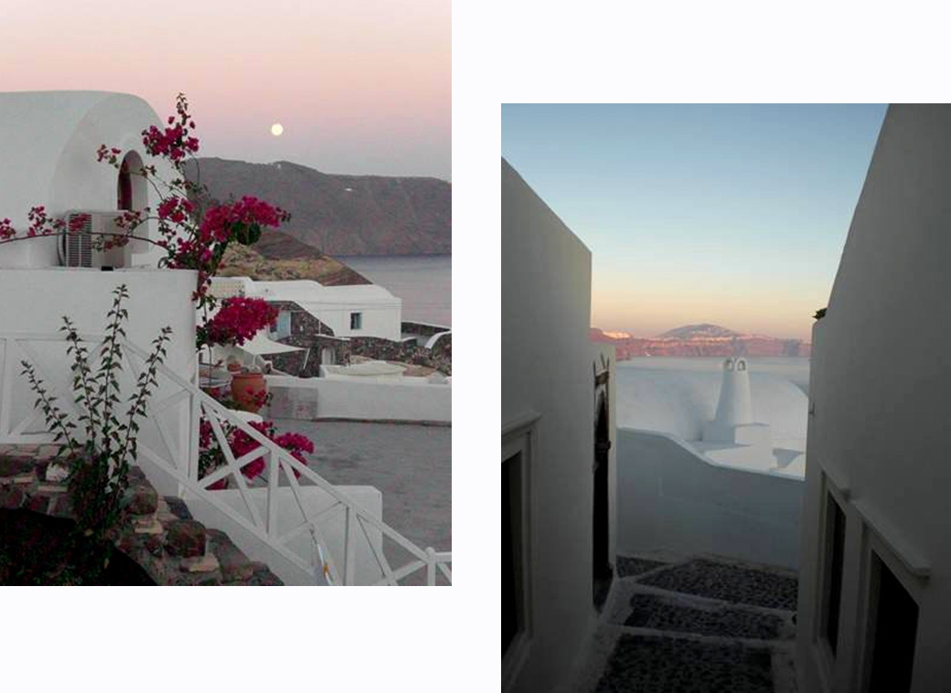 famous sunsets, colours and views in Santorini Greece Oia with Seen by Solomon travel blog