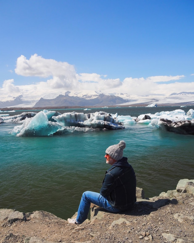 Glacier Lagoon Iceland with David and Angela Solomon travel blog Seen by Solomon