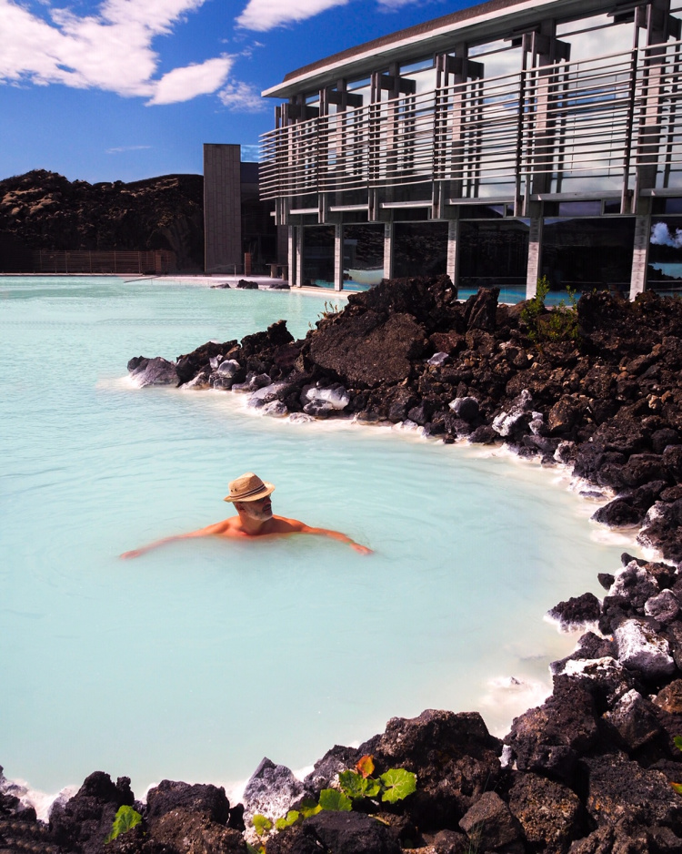 The Blue Lagoon Iceland with David and Angela Solomon travel blog Seen by Solomon