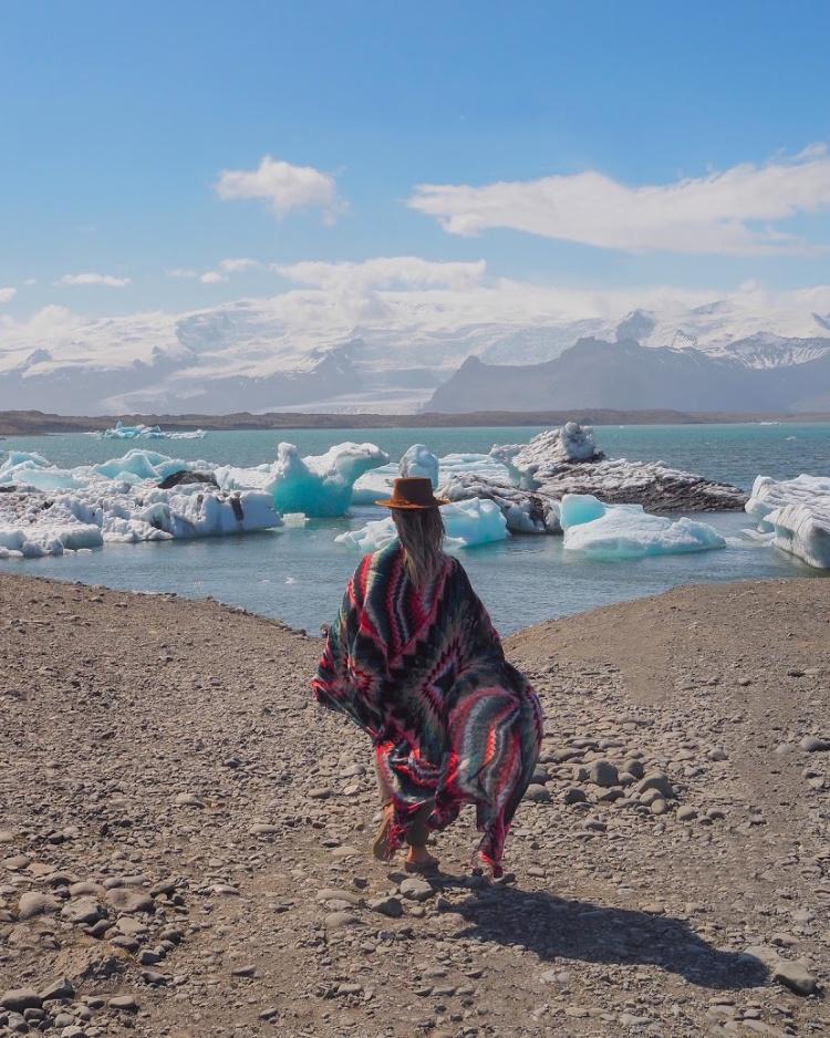 Glacier Lagoon Iceland with David and Angela Solomon travel blog Seen by Solomon