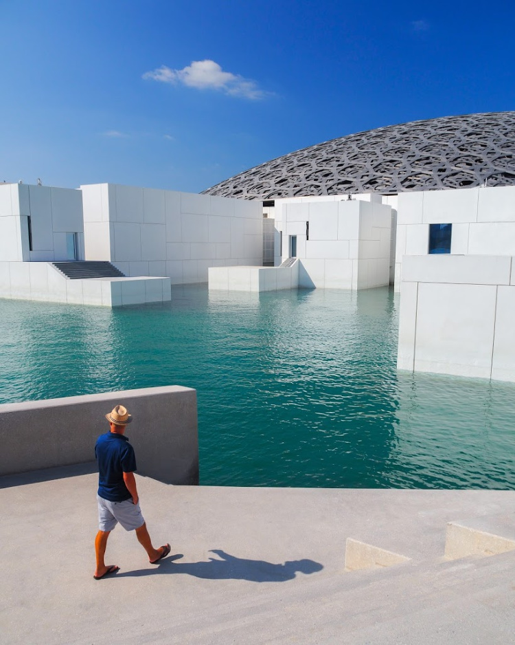 The Louvre Abu Dhabi with Seen by Solomon travel blog
