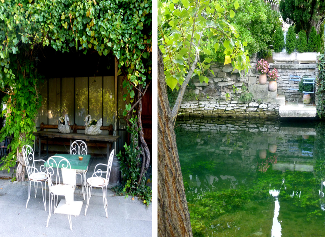 L'isle Sur la Sorgue in Provence France with crystal clear moat and antique shops with Seen by Solomon travel blog